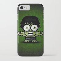 hulk iPhone & iPod Cases featuring Hulk by Thorin