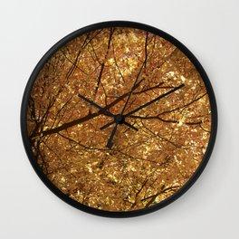 The colour tree Wall Clock