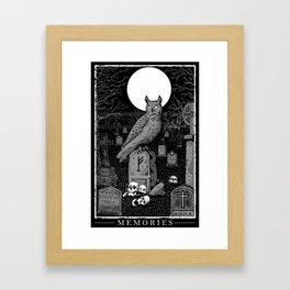 Memories Framed Art Print