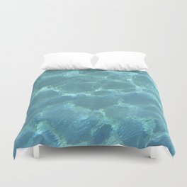 Turquoise Blue Water Duvet Cover
