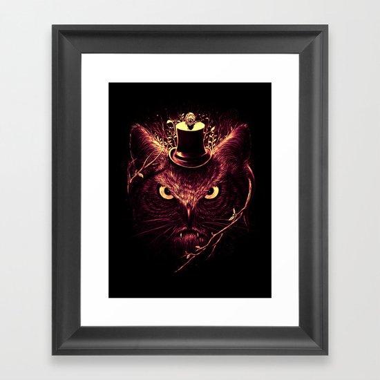 Meowl Framed Art Print