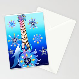 Fusion Keyblade Guitar #77 - Oathkeeper & Brightcrest Stationery Cards