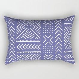 Line Mud Cloth // Iris Rectangular Pillow