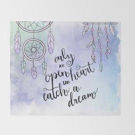 DREAM CATCHER Throw Blanket