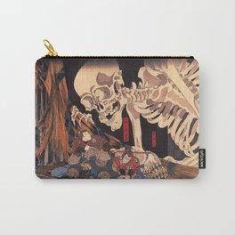 Takiyasha The Witch And The Skeleton Spectre By Utagawa Kuniyoshi Carry-All Pouch