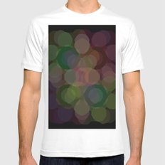 Colors#7 MEDIUM Mens Fitted Tee White