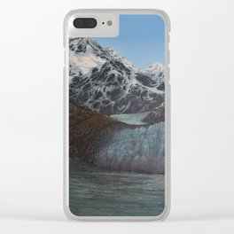 Glacier Bay Awakening Clear iPhone Case