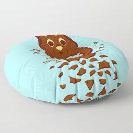 Chocolate Hunting Floor Pillow