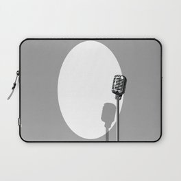 Musical Event Microphone Poster Laptop Sleeve