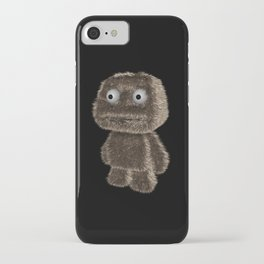 Little hairy monster iPhone Case