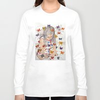 fantasy Long Sleeve T-shirts featuring Fantasy by Condor