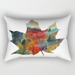 Autumn Leaf Rectangular Pillow