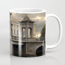 Postcards from Petersburg - Lomonosv Bridge Coffee Mug