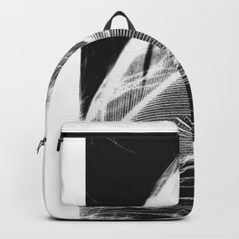 Feather Negative #3 Backpack