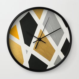 Metalicized Wall Clock