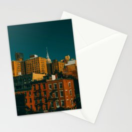 New York City Apartments (Color) Stationery Cards