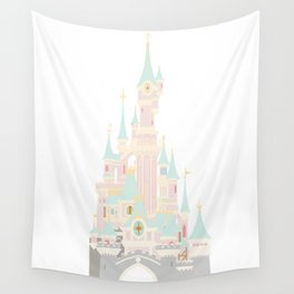 Castle 4 Wall Tapestry