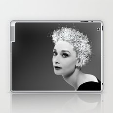Audrey in Black Laptop & iPad Skin