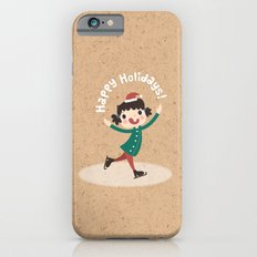 Day 14/25 Advent - Holiday Ice Skating iPhone 6s Slim Case