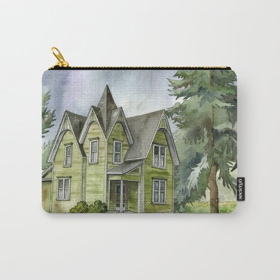 The Green Clapboard House Carry-All Pouch