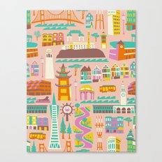 Going to San Francisco Canvas Print