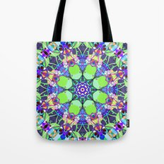 Vibrant Concentric Abstract Tote Bag