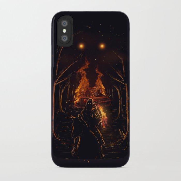 The Arsonist iPhone Case