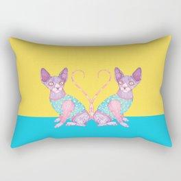 The Clowncat Rectangular Pillow