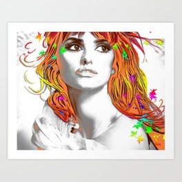 Pop-Art Fantasy 2 Art Print