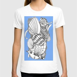Gifts from the Sea Zentangle Style T-shirt