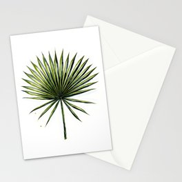 Fan Palm Leaf Stationery Cards