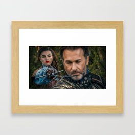 lena luthor -musketeer Framed Art Print