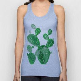 Green cactus Unisex Tank Top