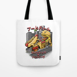 hotdog vs hambuger Tote Bag