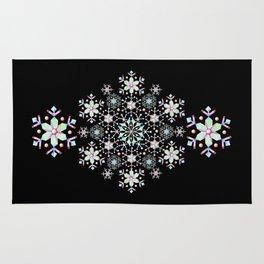 Snowflake Mandala Rug