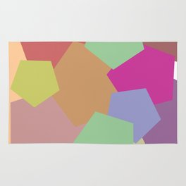 Colliding Colors Rug