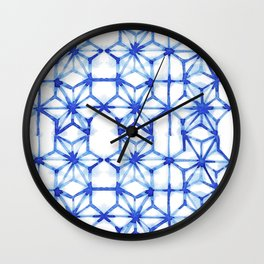 Abstract geometric star Wall Clock