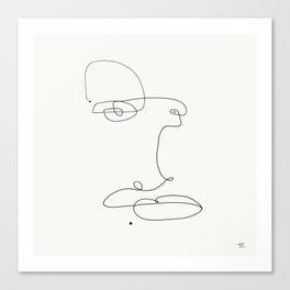 Three.. dots. Canvas Print