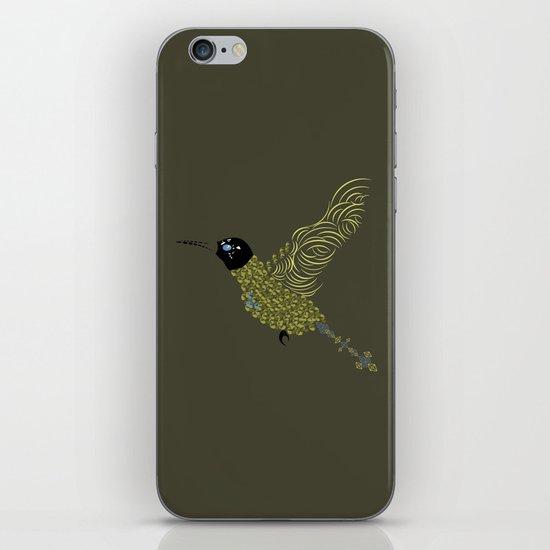 Abstract Hummingbird iPhone & iPod Skin