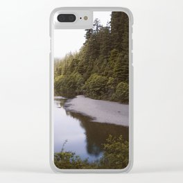 Eel river Clear iPhone Case