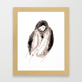 Empty Hug Framed Art Print