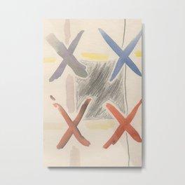 4x Metal Print