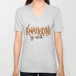 Kwaherini Unisex V-Neck