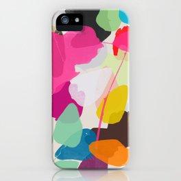 golden rain 1 iPhone Case