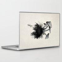 mushrooms Laptop & iPad Skins featuring Mushrooms by Nicklas Gustafsson