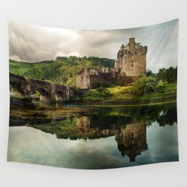 Landscape with an old castle Wall Tapestry
