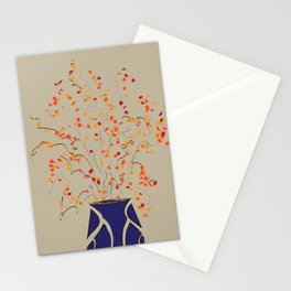 Bittersweet in a Blue Vase Stationery Cards