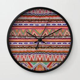 TRIBAL NOMAD Wall Clock