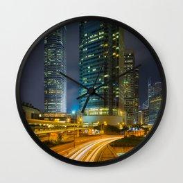 HONG KONG 25 Wall Clock