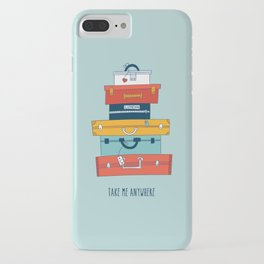 Take me anywhere iPhone Case